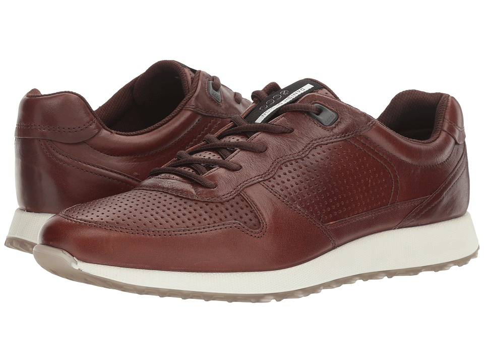 ECCO - Sneak Trend (Whiskey) Men's Lace up casual Shoes