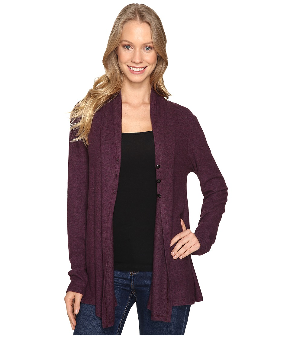 B Collection by Bobeau - Betie Cardigan (Berry) Women's Sweater