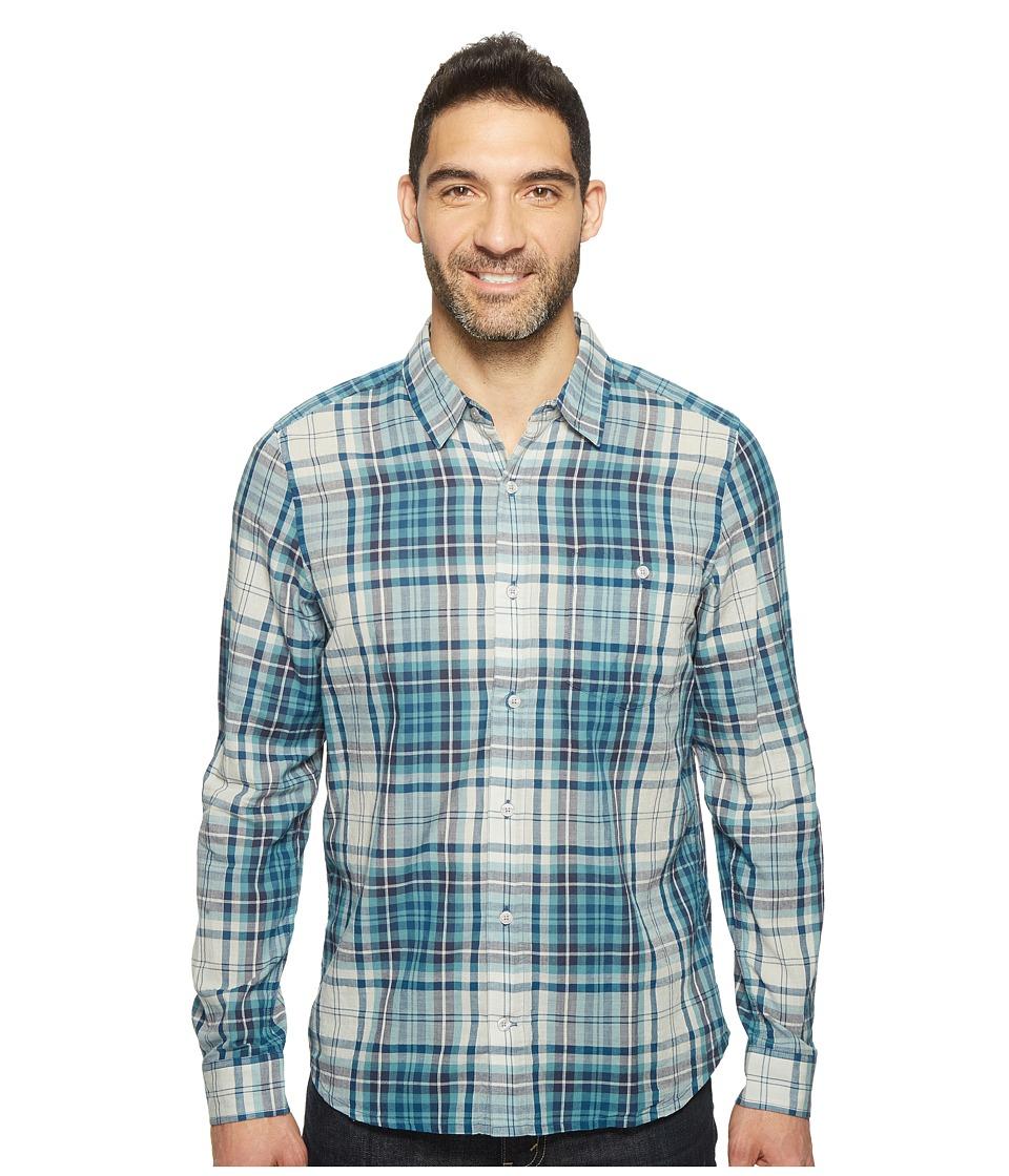 Toad&Co - Cuba Libre L/S Shirt (Blue Abyss) Men's Long Sleeve Button Up