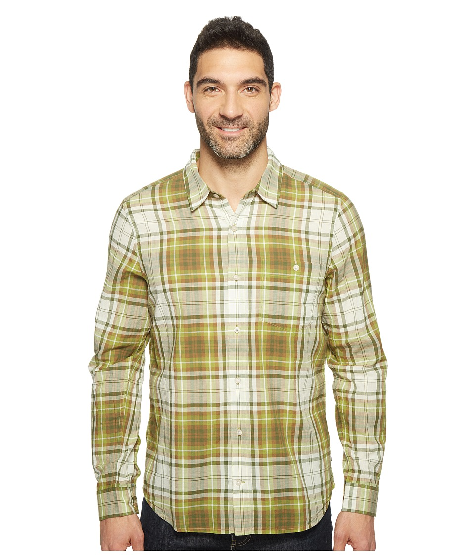 Toad&Co - Cuba Libre L/S Shirt (Iguana) Men's Long Sleeve Button Up