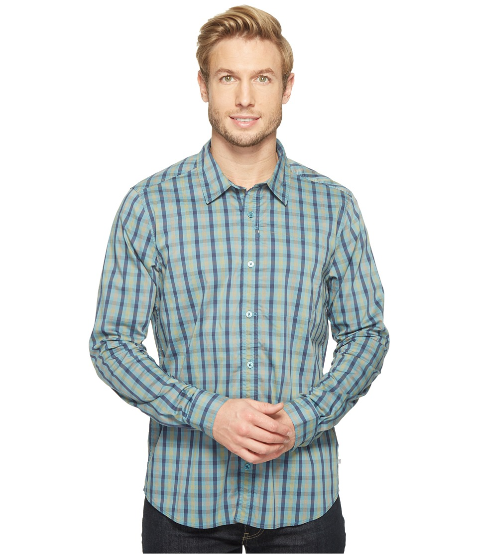 Toad&Co - Panorama Long Sleeve Shirt (Hydro) Men's Long Sleeve Button Up