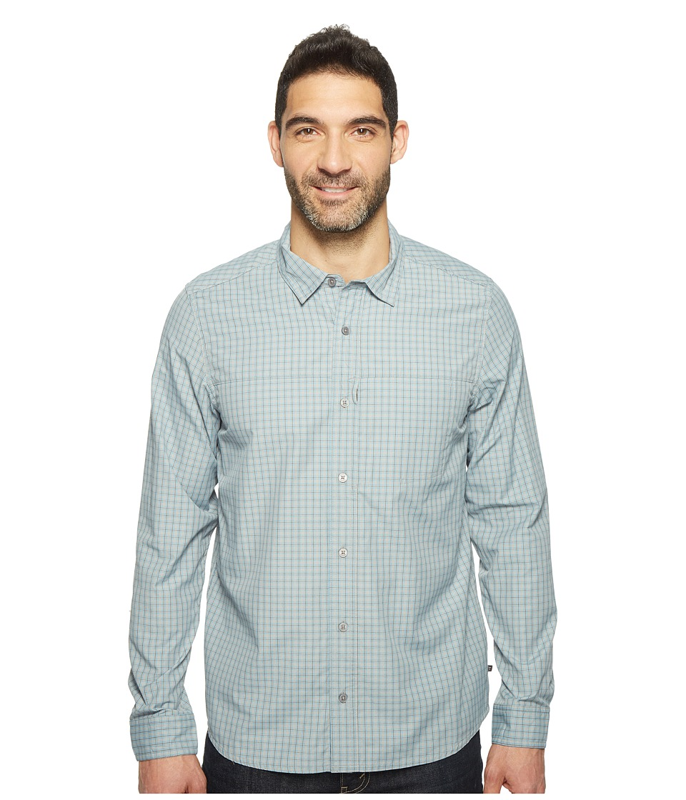 Toad&Co - Debug Quick-Dry Long Sleeve Shirt (Light Ash) Men's Clothing