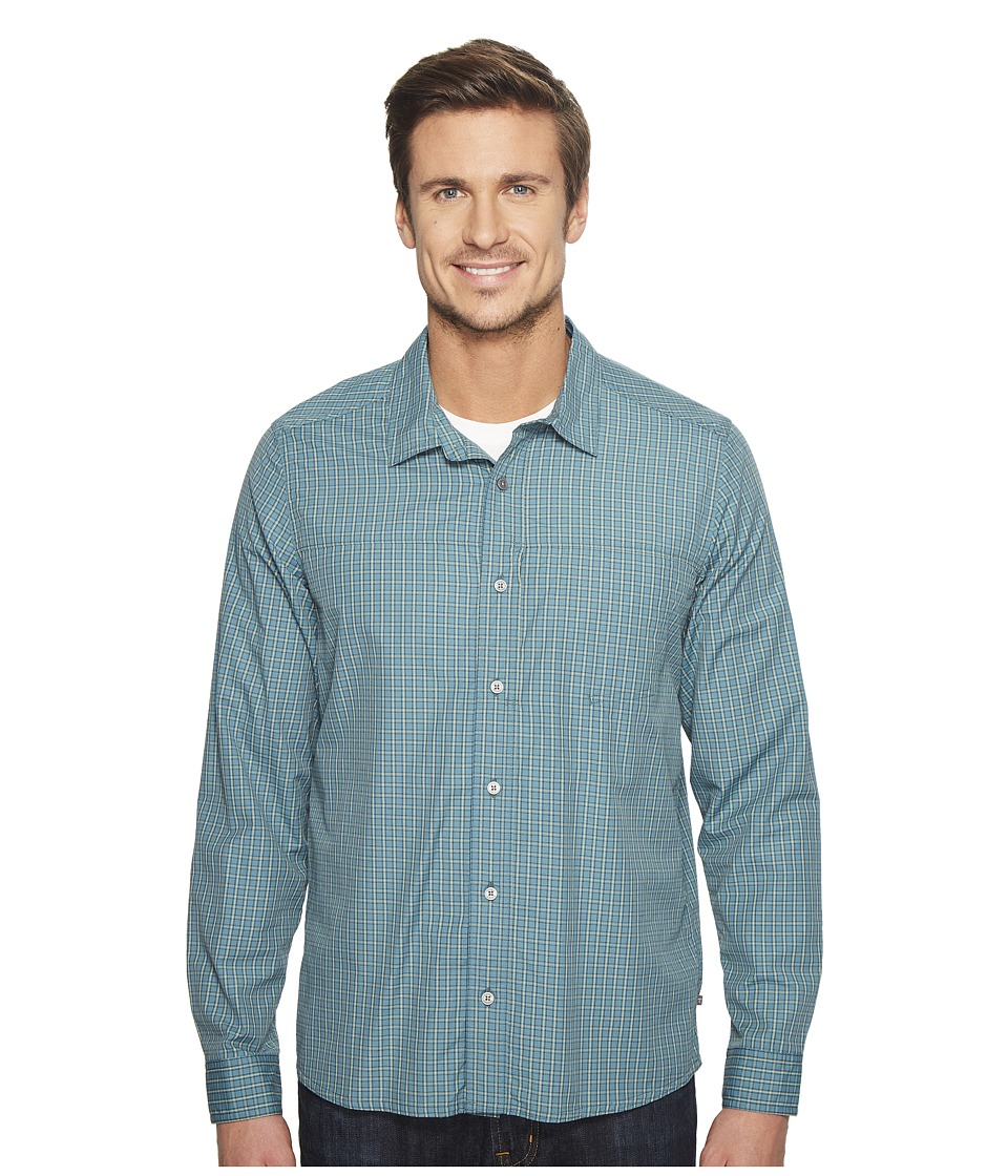 Toad&Co - Debug Quick-Dry Long Sleeve Shirt (Hydro) Men's Clothing