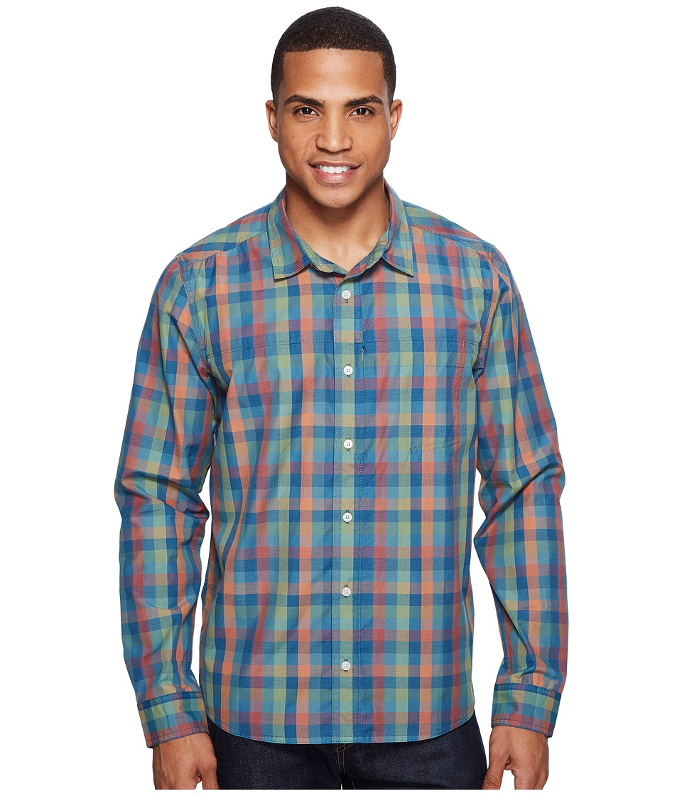 Toad&Co - Ventilair Long Sleeve Shirt (Hydro) Men's Clothing