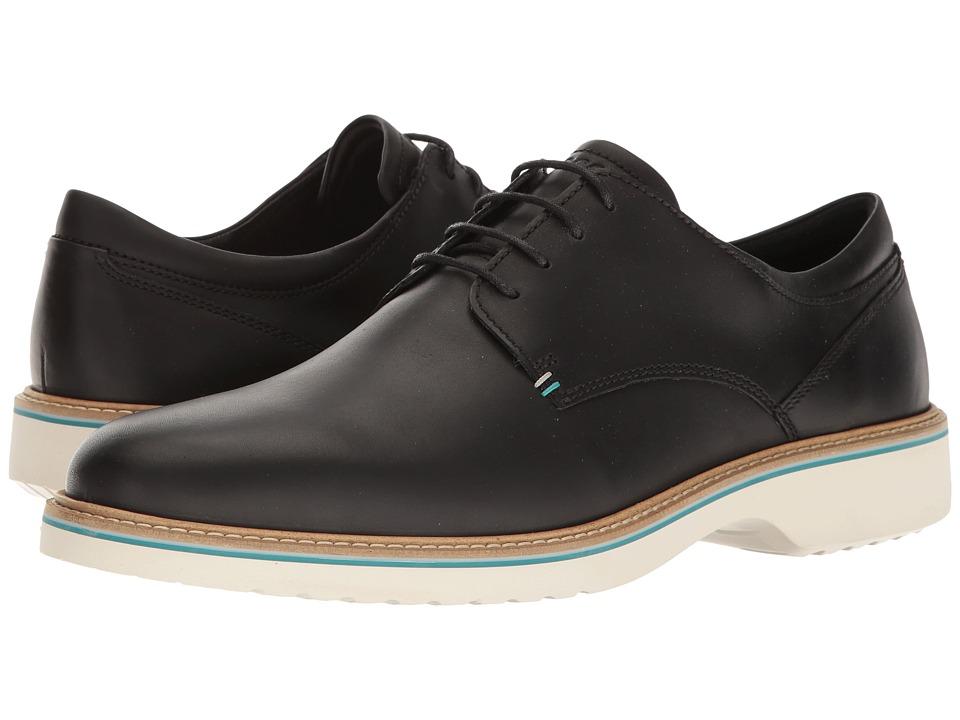 ECCO - Ian Tie (Black) Men's Lace up casual Shoes