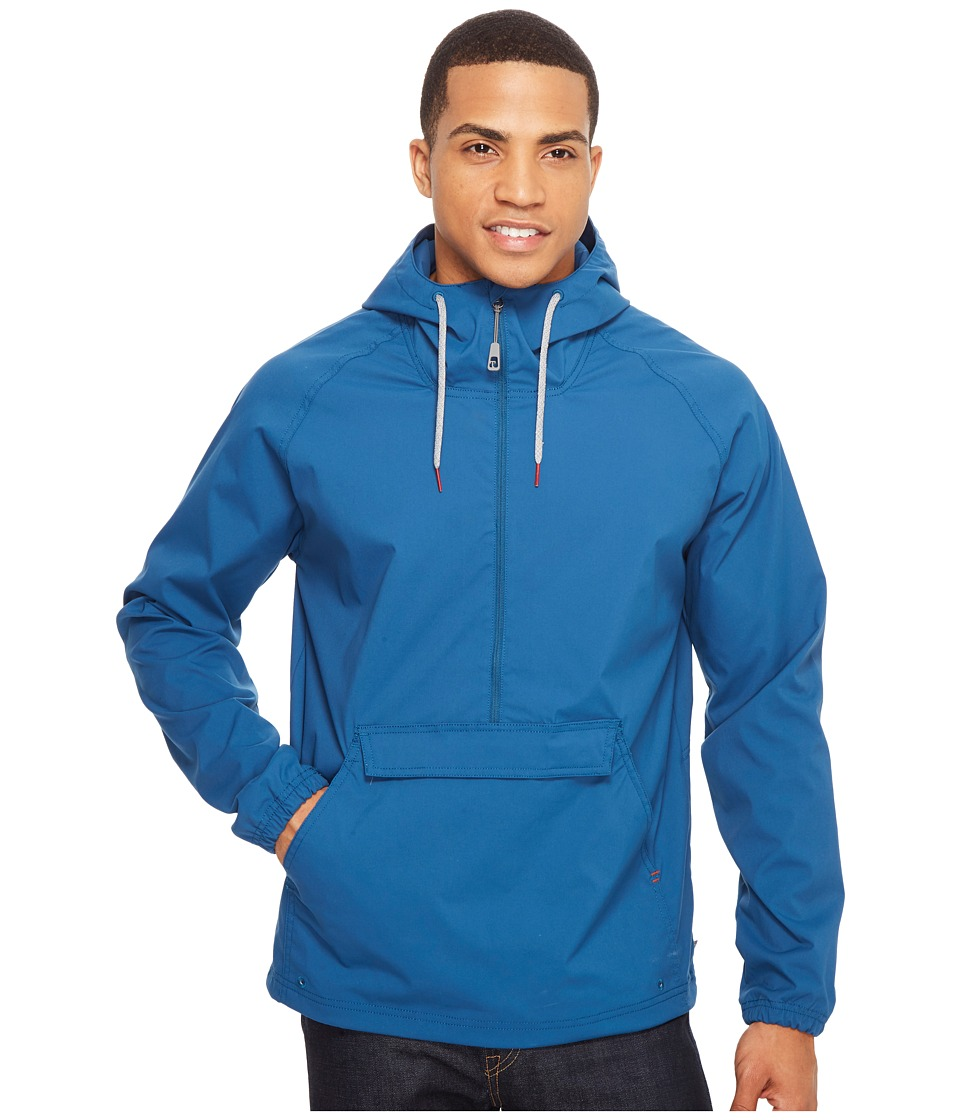 Toad&Co - Trekker Anorak (Blue Abyss) Men's Clothing