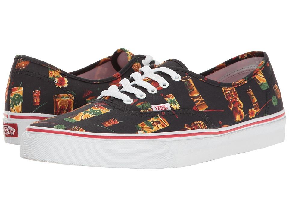 Vans - Authentictm ((Hoffman) Black/Caribbean Cocktails) Skate Shoes