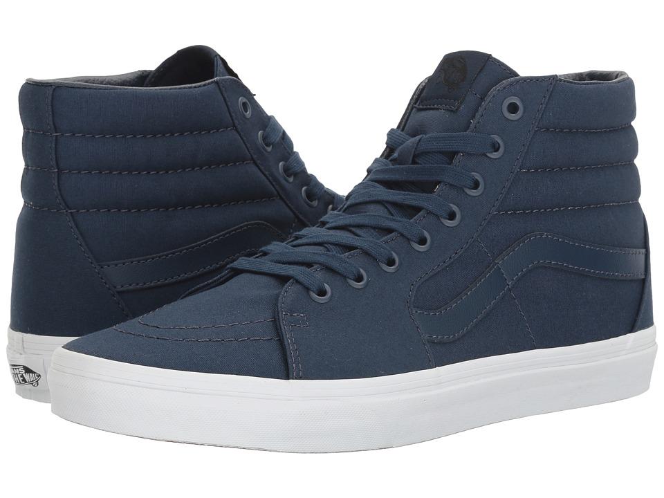 Vans - SK8-Hitm ((Mono Canvas) Dress Blues/True White) Skate Shoes