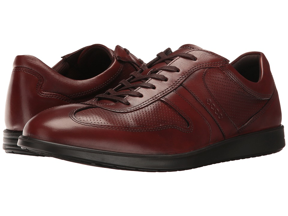ECCO - Indianapolis Classic Tie (Cognac) Men's Lace up casual Shoes