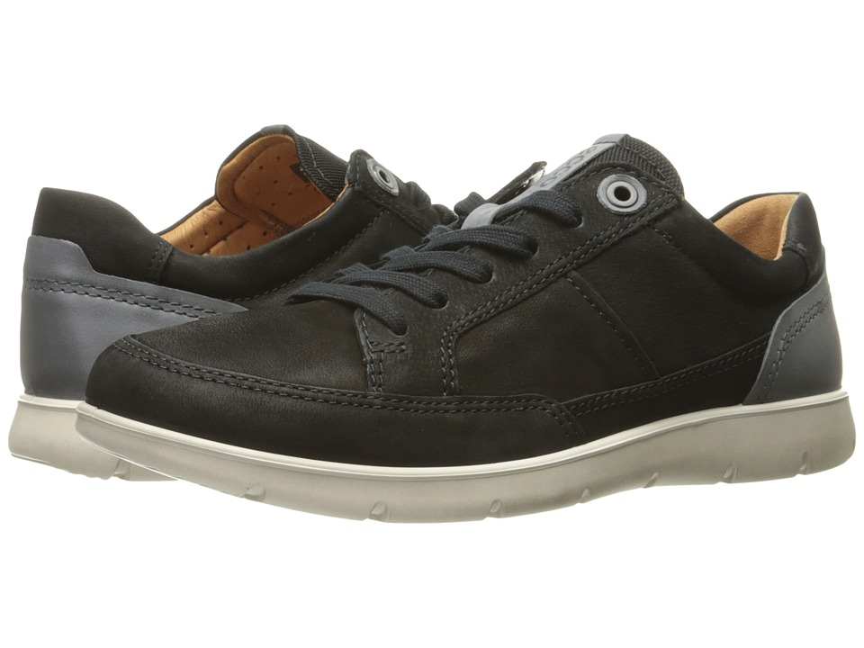 ECCO Iowa Neo Sneaker (Black/Titanium) Men
