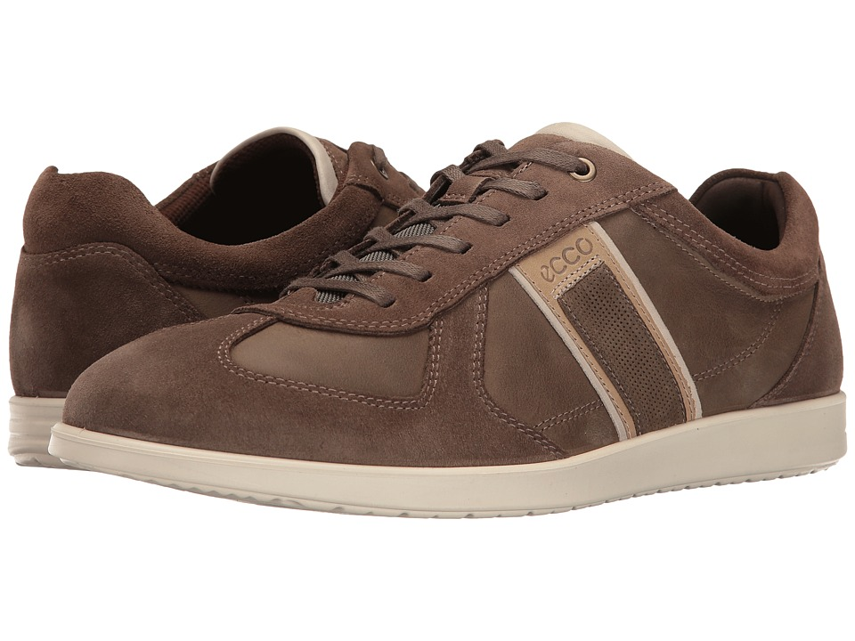 ECCO - Indianapolis Sneaker (Dark Clay/Tarmac) Men's Lace up casual Shoes