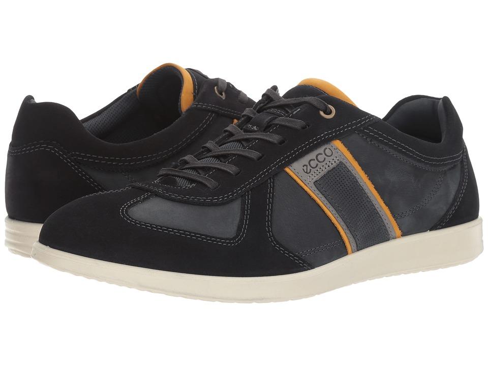 ECCO Indianapolis Sneaker (Navy/Navy) Men