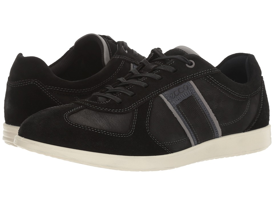 ECCO - Indianapolis Sneaker (Black/Black) Men's Lace up casual Shoes