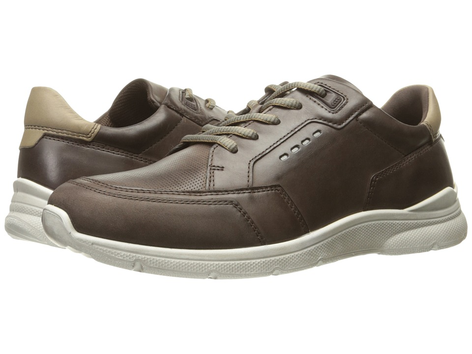ECCO - Irondale Neo Sneaker (Coffee/Coffee) Men's Lace up casual Shoes
