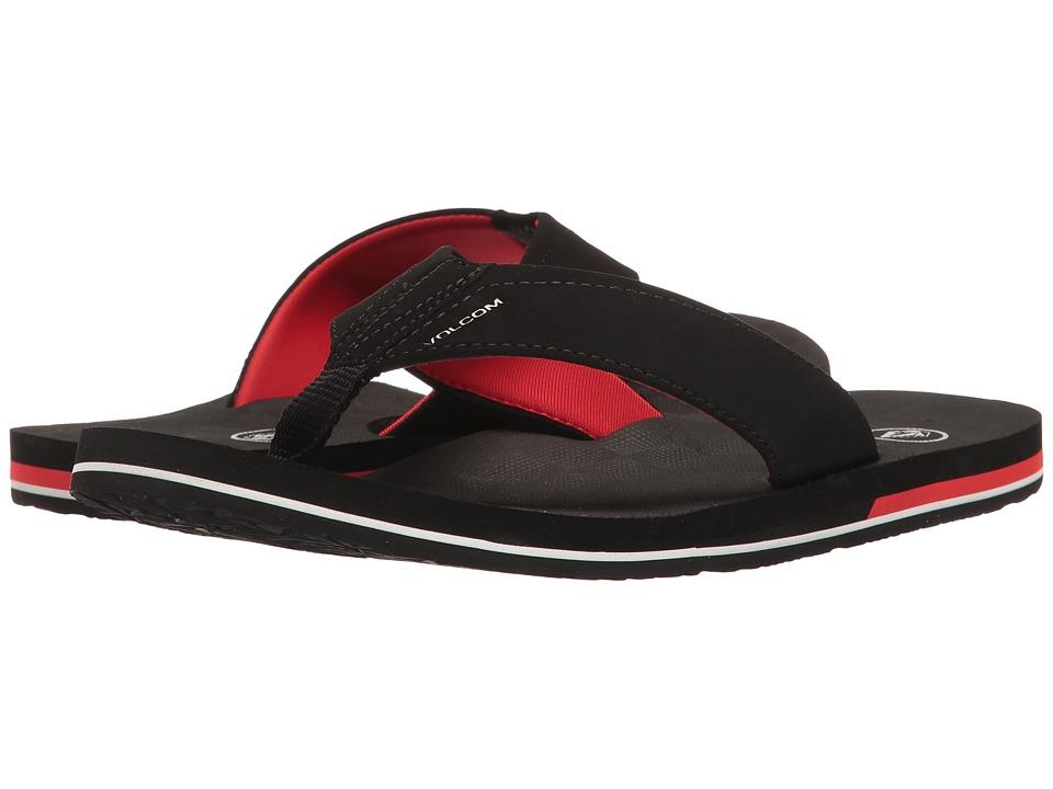 Volcom - Victor (Black Top) Men's Sandals