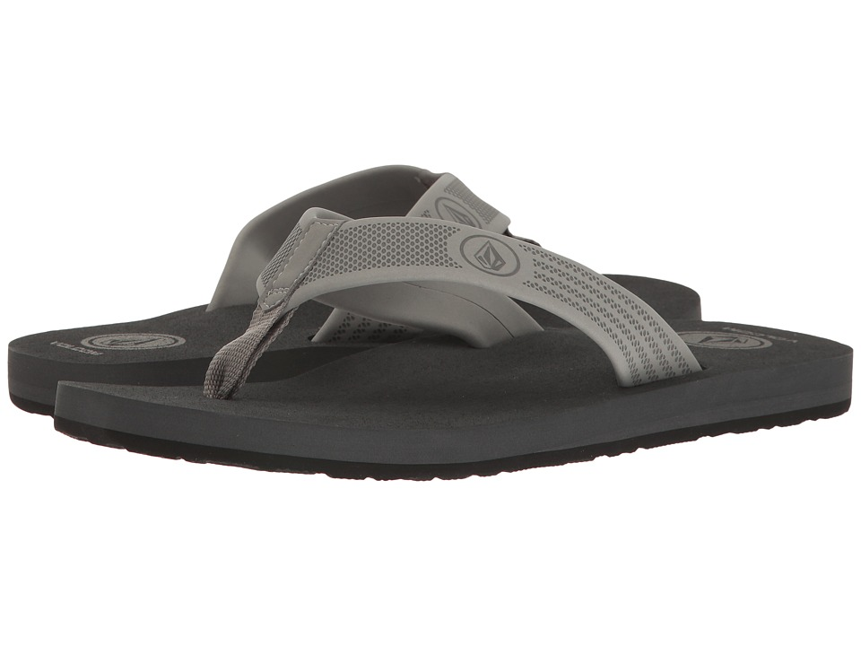 Volcom - Daycation (Neutral Grey) Men's Sandals