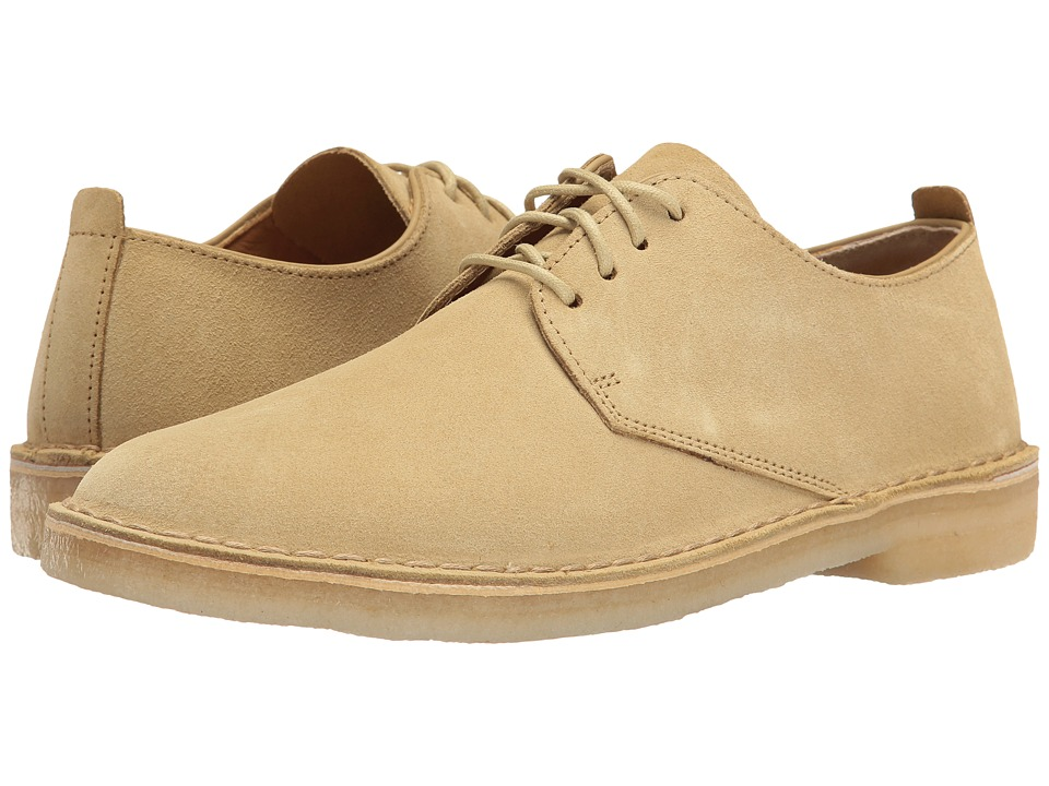 Clarks - Desert London (Maple Suede) Men's Lace up casual Shoes
