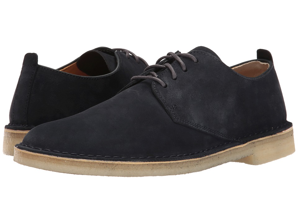 Clarks - Desert London (Midnight Suede) Men's Lace up casual Shoes