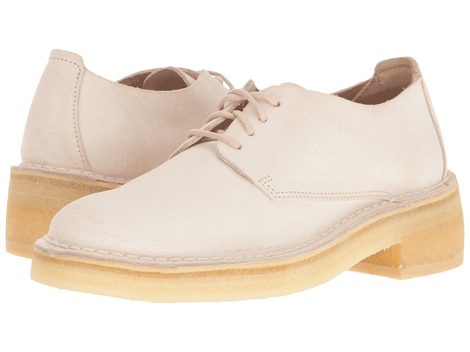 Clarks - Maru London (Light Pink Suede) Women's Lace-up Boots