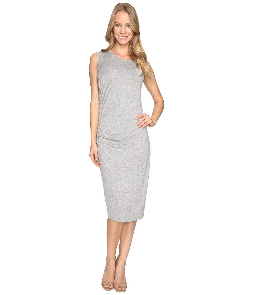 B Collection by Bobeau Camari Knit Dress (Heather Grey) Women