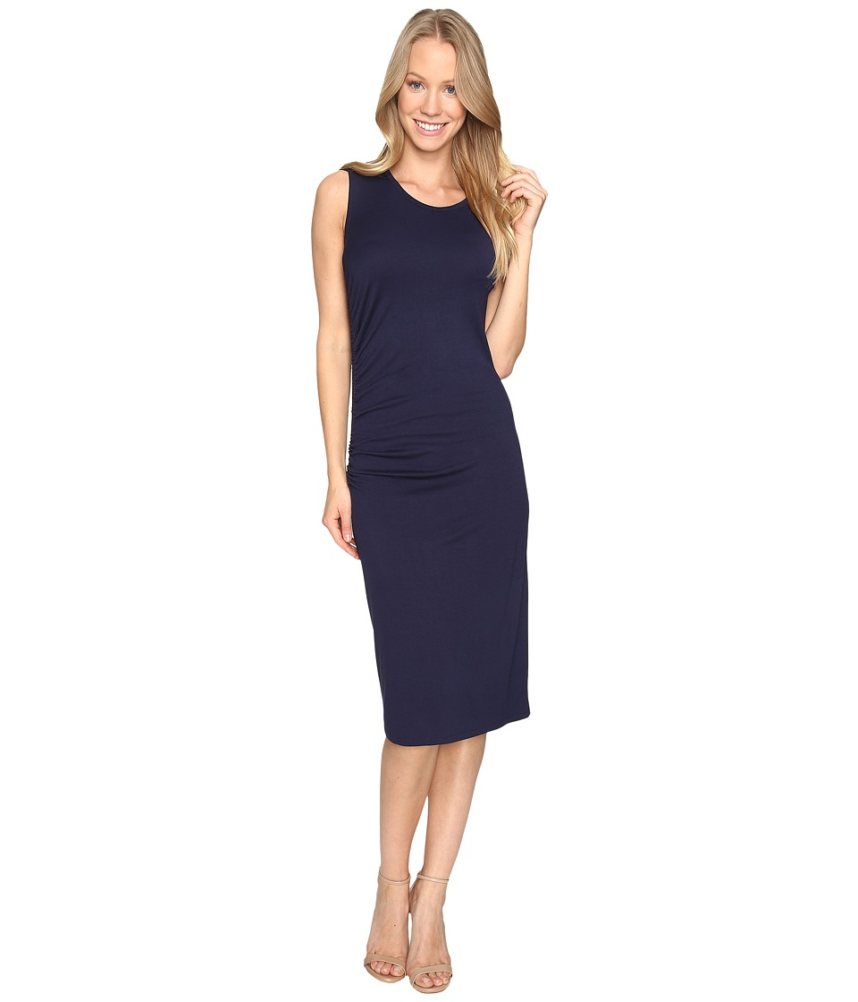 B Collection by Bobeau - Camari Knit Dress (Navy) Women's Dress