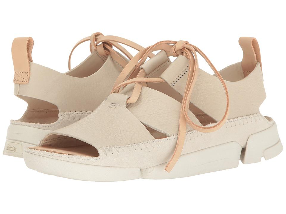 Clarks - Trigenic Honey (Off-White Nubuck) Women's Sandals