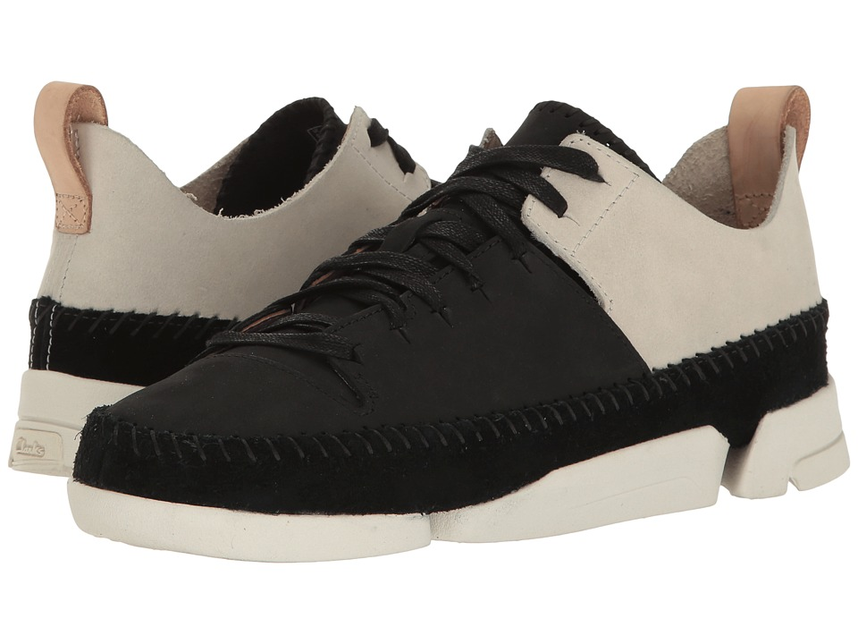 Clarks - Trigenic Flex (Black Combination Nubuck) Women's Lace up casual Shoes