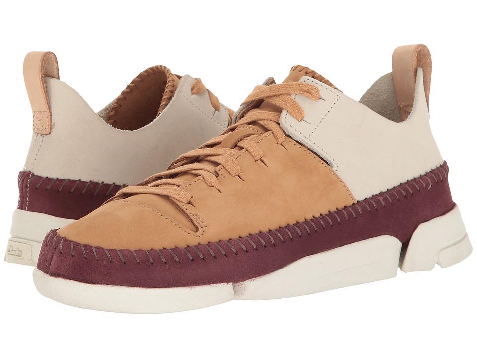 Clarks - Trigenic Flex (Fudge Combination Nubuck) Women's Lace up casual Shoes