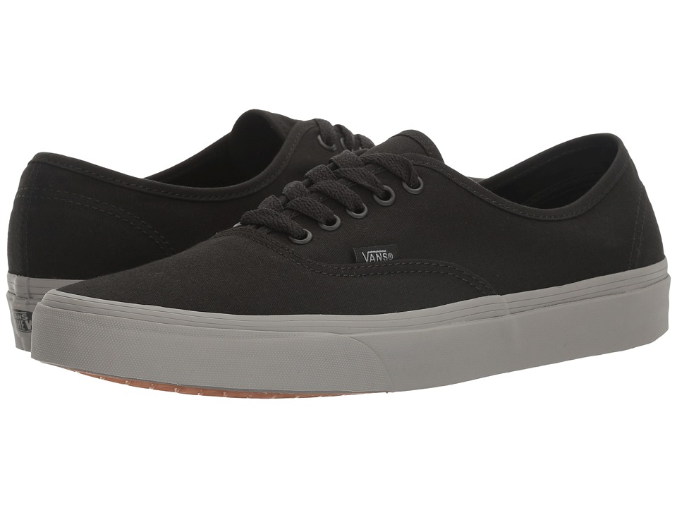 Vans - Authentictm ((Pop) Black/Frost Gray) Skate Shoes