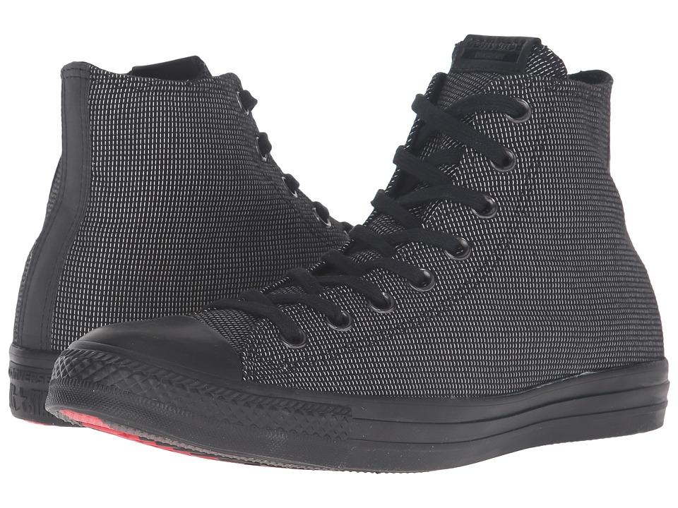 Converse - Chuck Taylor All-Star Hi (Black/Black/Black) Classic Shoes