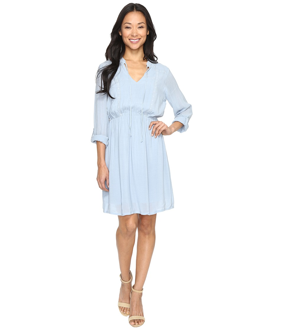 B Collection by Bobeau - Liv Dress (Light Blue) Women's Dress