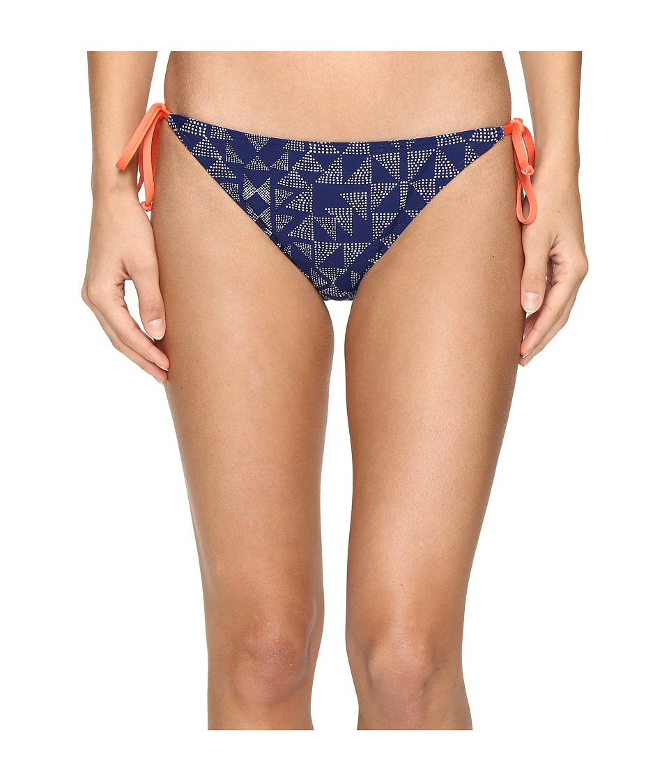 Splendid Deckhouse Geo Tie Side Pants (Indigo) Women