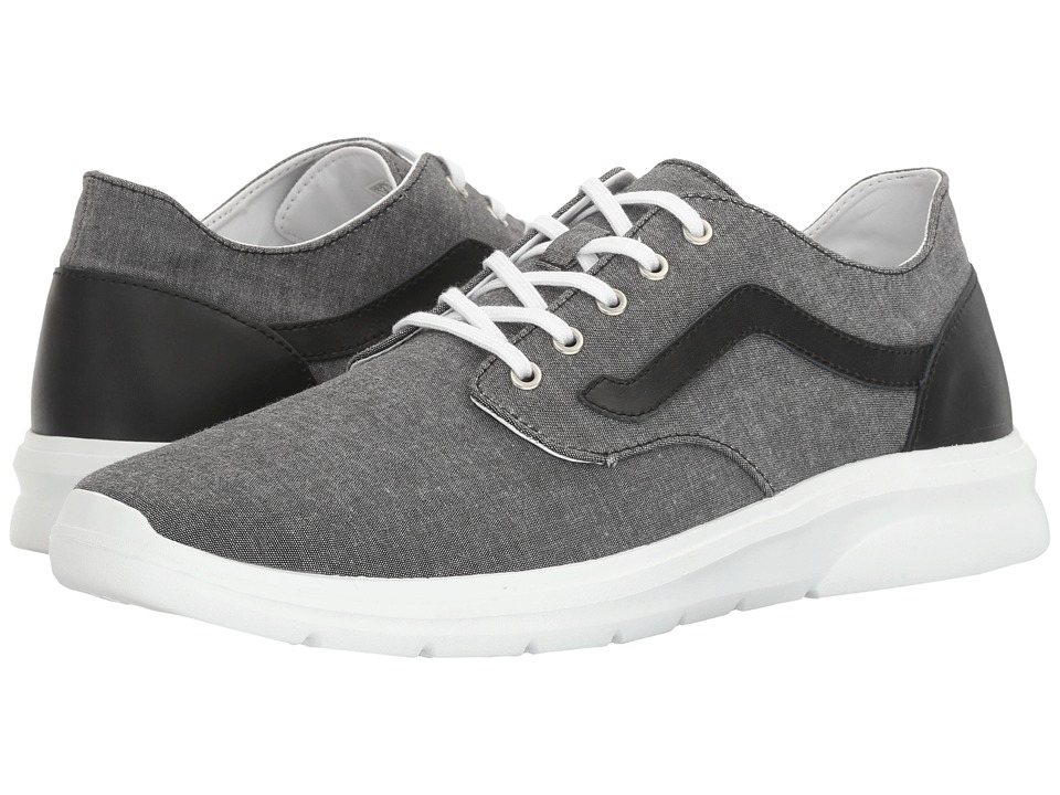 Vans - Iso 2 ((C&L) Chambray/Black) Men's Shoes