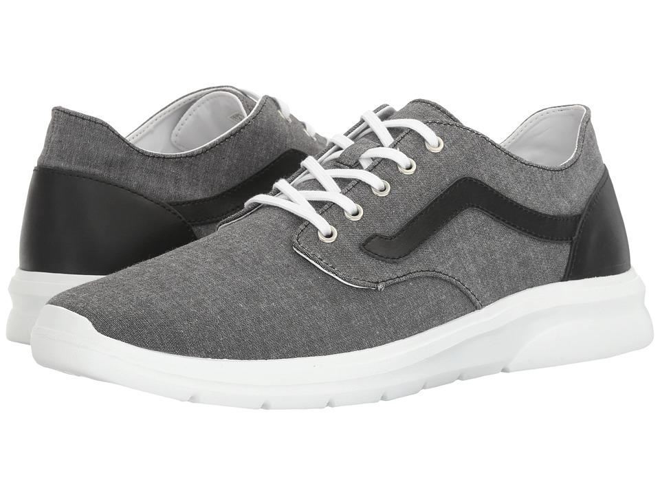 Vans - Iso 2 ((C&L) Chambray/Black) Men's Shoes