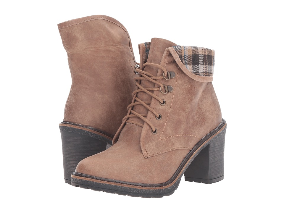 White Mountain - Jay Jay (Tan Distressed) Women's Shoes