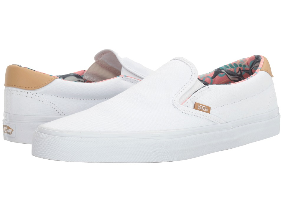 Vans - Slip-On 59 ((C&L) Dolphins/True White) Skate Shoes