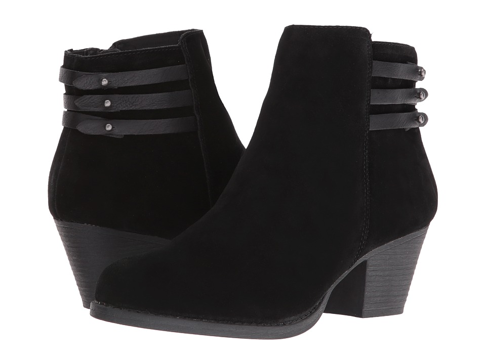 White Mountain - Idella (Black Suede) Women's Shoes