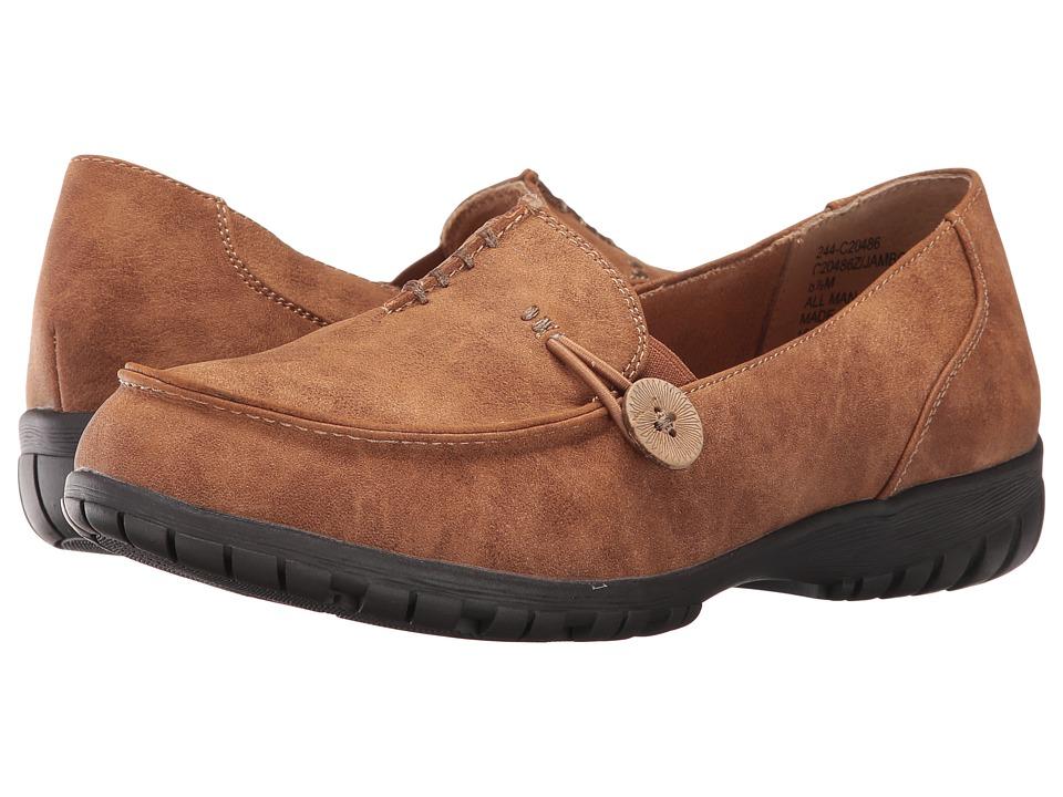 White Mountain - Jamboree (Cognac) Women's Shoes
