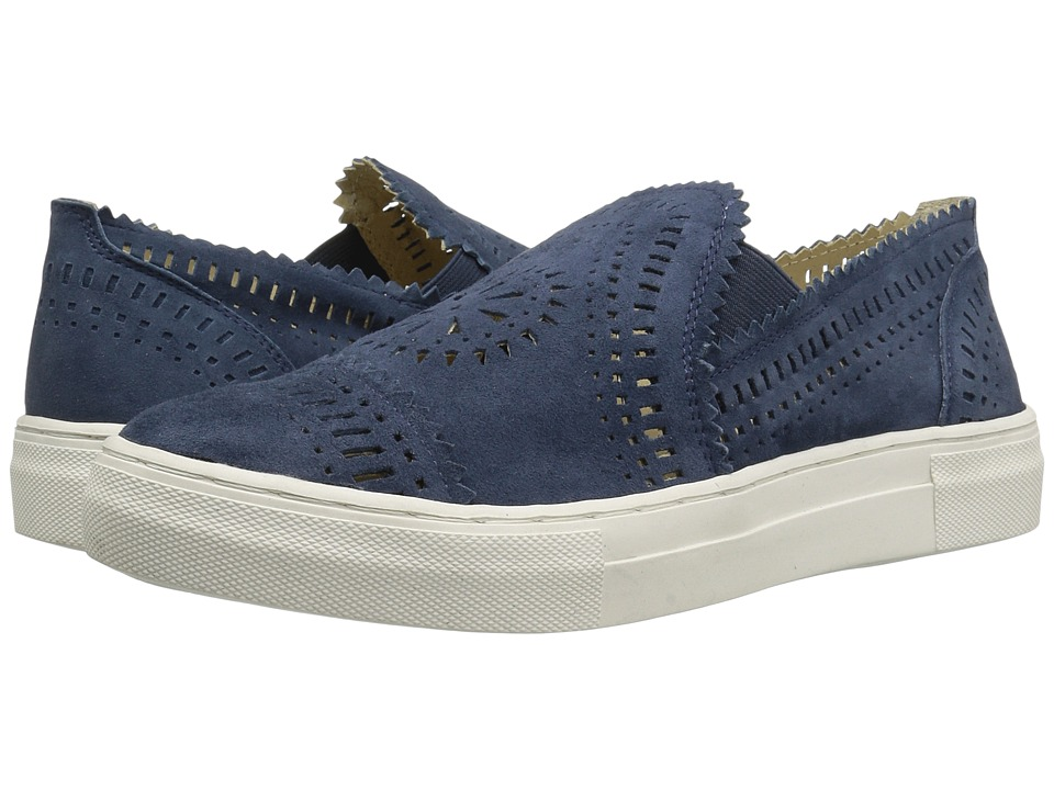 Seychelles - So Nice (Indigo Suede) Women's Slip on Shoes