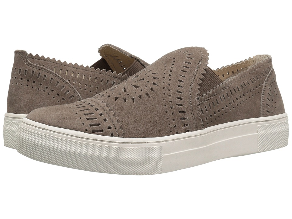 Seychelles - So Nice (Taupe Suede) Women's Slip on Shoes