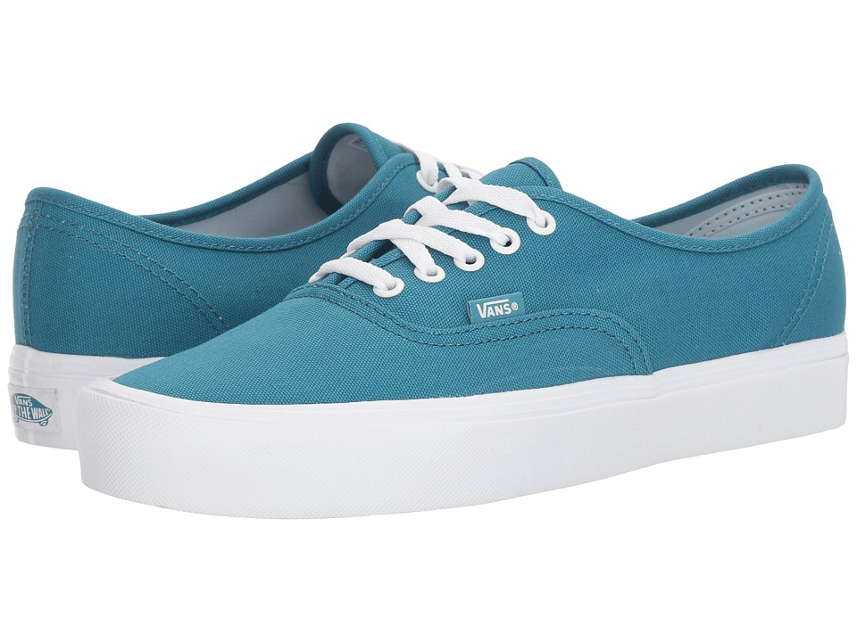 Vans - Authentic Lite ((Canvas) Larkspur/True White) Skate Shoes