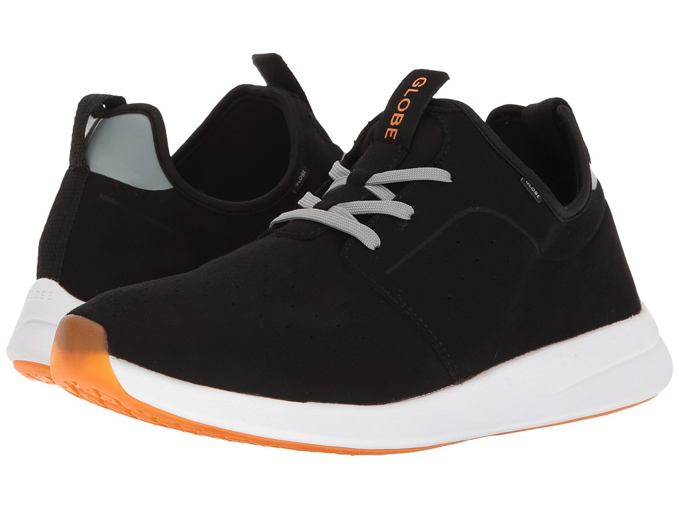 Globe - Dart Lyte (Black/Grey/Orange) Men's Skate Shoes