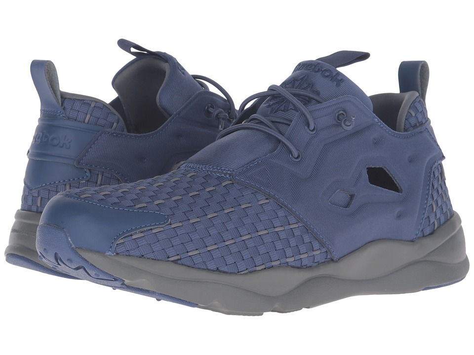 Reebok - Furylite New Woven (Midnight Blue/Alloy) Men's Shoes