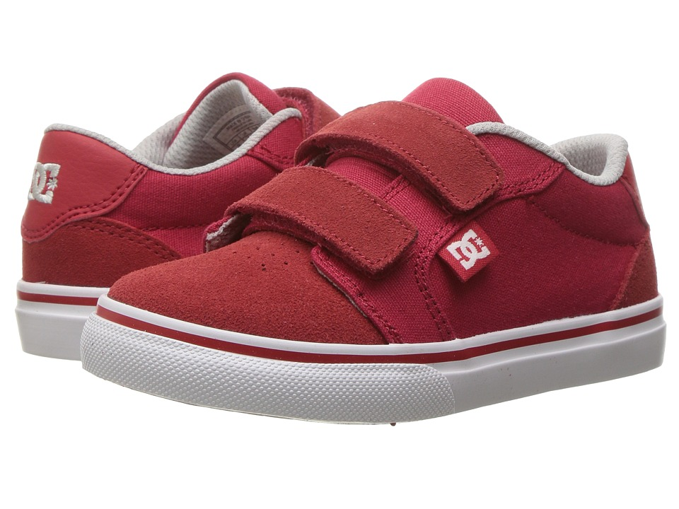 DC Kids - Anvil V (Toddler) (Red 1) Boys Shoes