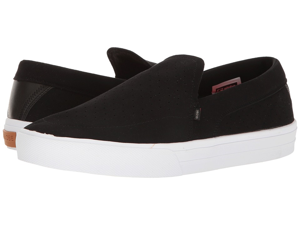 Globe - Castro Lyt (Black/White) Men's Slip on Shoes