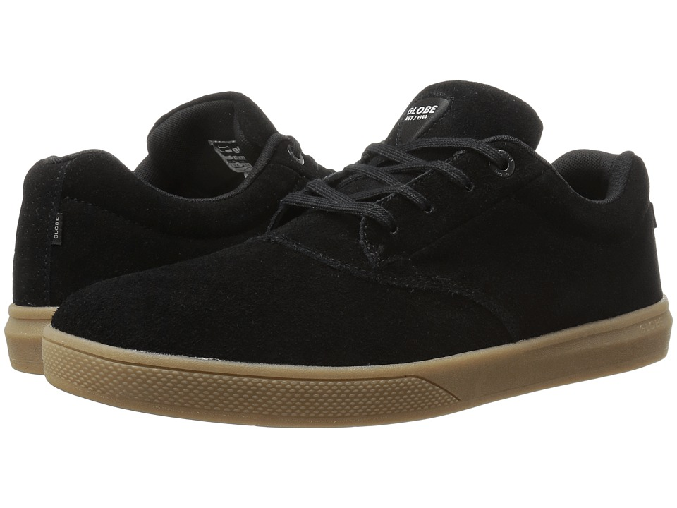 Globe - The Eagle (Black/Gum) Men's Skate Shoes