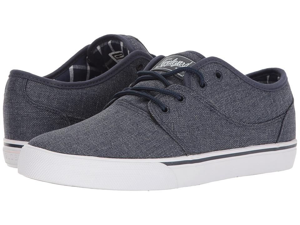 Globe - Mahalo (Navy Chambray) Men's Skate Shoes