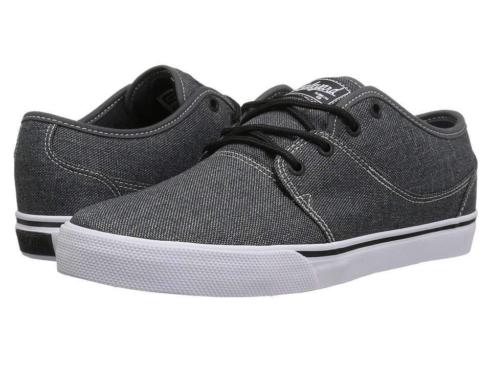 Globe - Mahalo (Black Chambray) Men's Skate Shoes