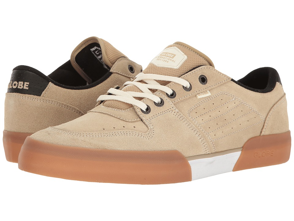 Globe - Mojo Legacy (Khaki White Shaved Suede) Men's Lace up casual Shoes