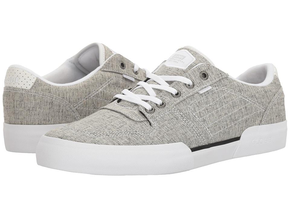 Globe - Mojo Legacy (Grey Chambray/White) Men's Lace up casual Shoes